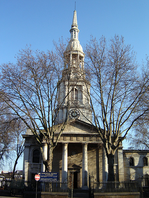 St Leonard, Shoreditch, London