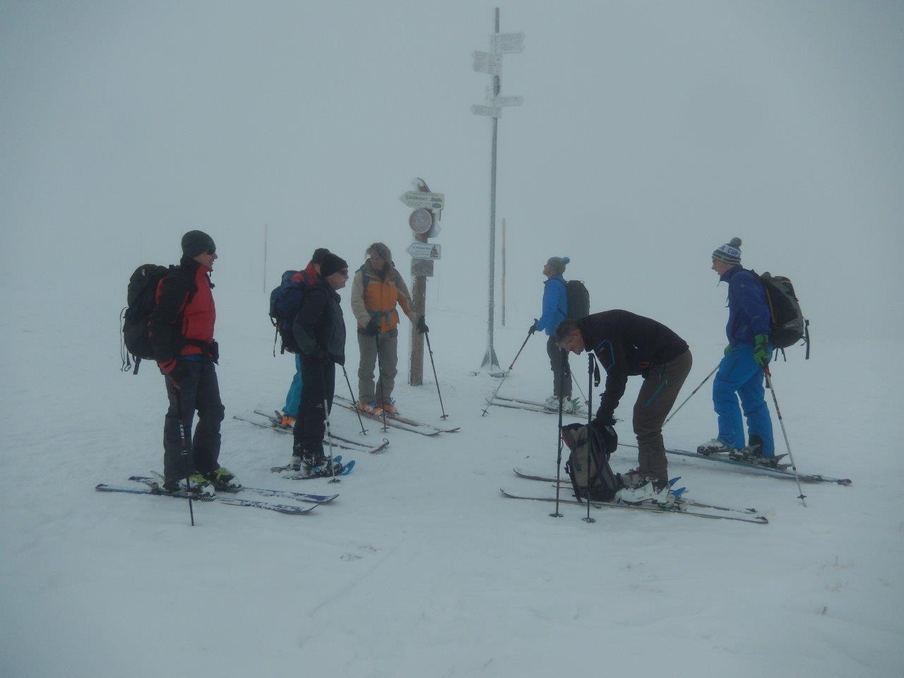 Skitour Feldberg 08.01.2017
