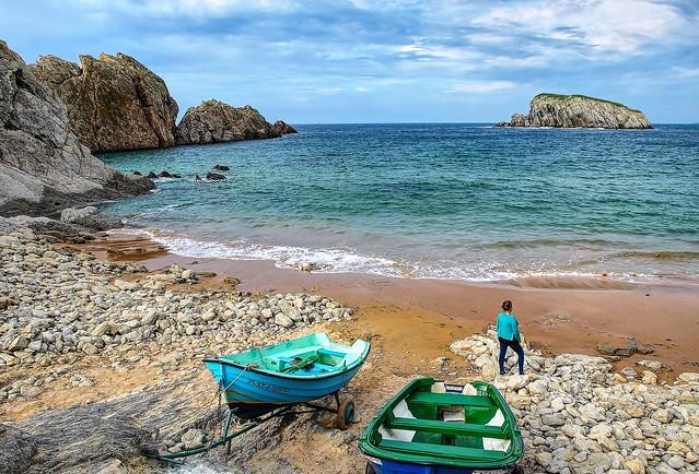 Playa de Arnía. Cantabria.