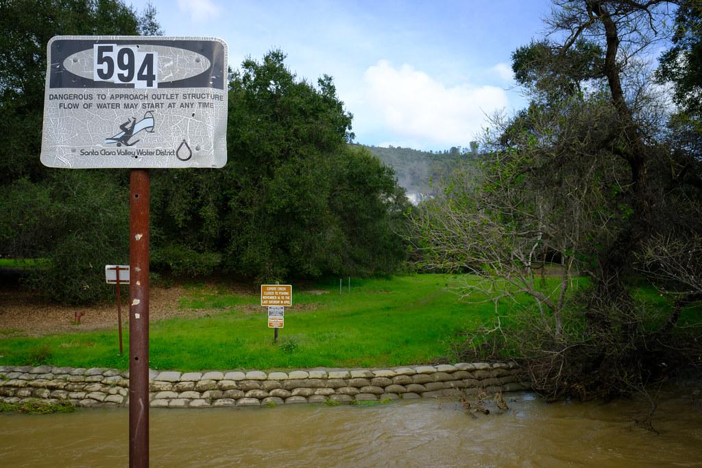 Anderson Dam Overflow 2354