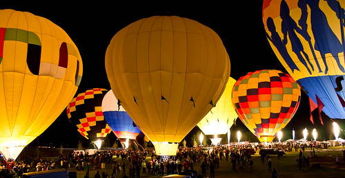 Snowmass hot air balloon fest; night glow!! | by messycupcakes