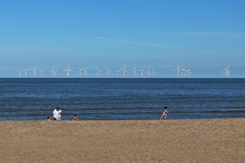 uk england beach nature beauty landscape coast landscapes seaside view natural windfarm britishseaside skegness bythesea windtubines
