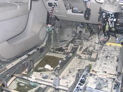Inundacion Renault Scenic Antes. Trabajo encargado por Mutua Madrileña