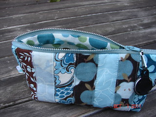 moda zippered pouch lining