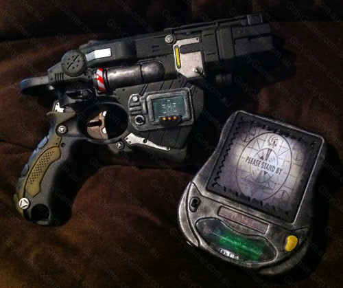 Nerf Vortex Proton gun mod Fallout PIP-Boy and PIP-Pad | Flickr