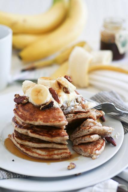 Banana Buttermilk Pancakes-25