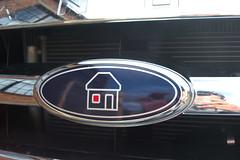 Bespoke logo Ford car badge