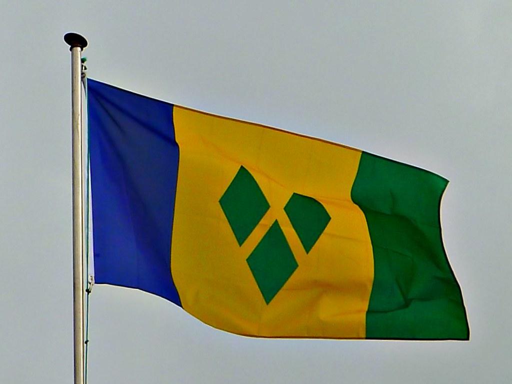 St  Vincent and the Grenadines flag | Gerard Flores | Flickr