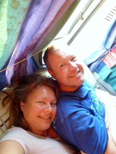 Fairy Meadow - om 6 uur wakker na eerste nacht camper