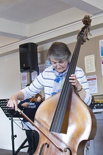 Betty learns to play the double bass | by thecrossway