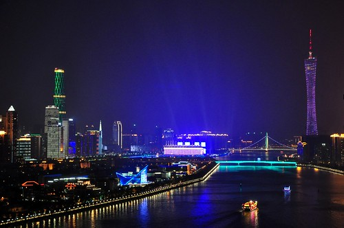 Pearl River and Cantor Tower, Guangzhou | by duabelas