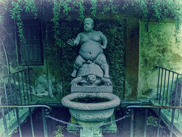fontana del bacchino, giardino di boboli