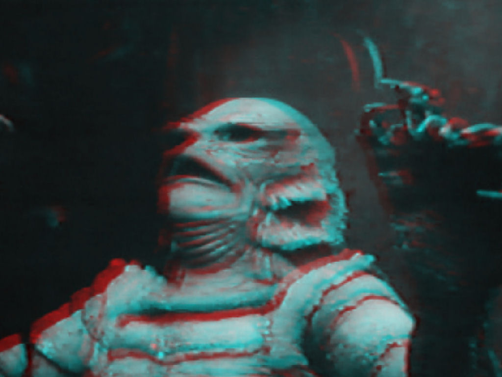 Creature From The Black Lagoon 3d 21 Anaglyph Elak Swindell
