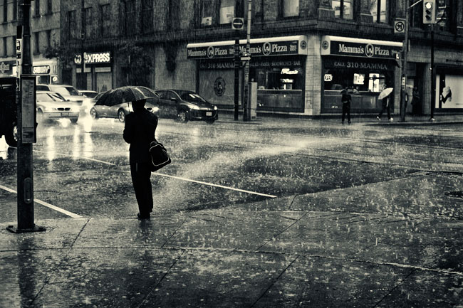 Friday Night Rain