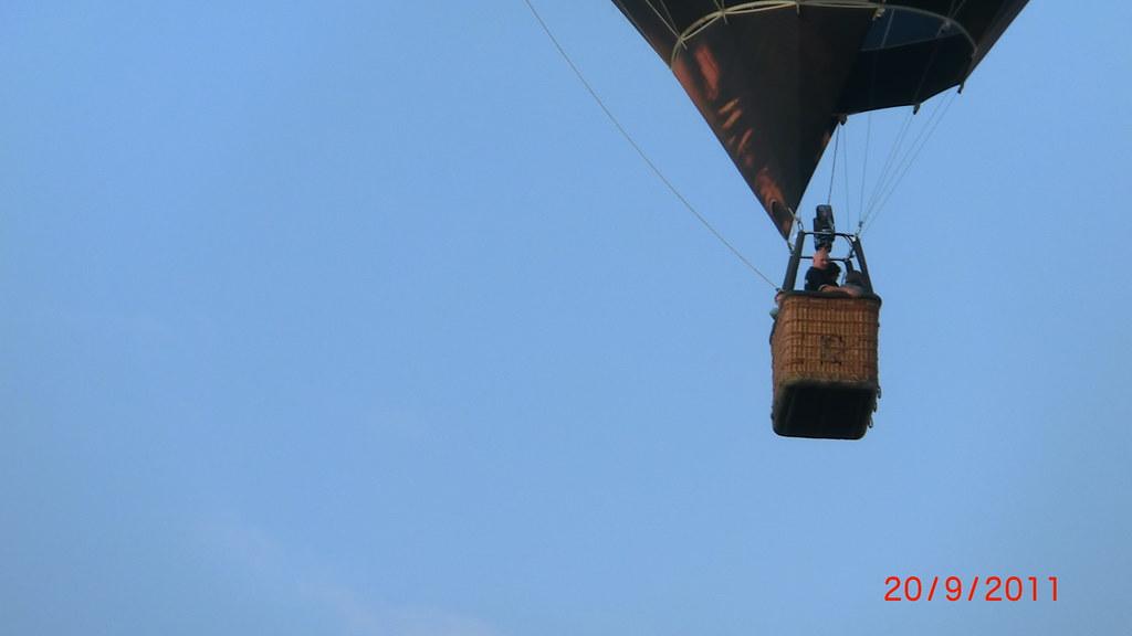 Das Zeppelin - Projekt stand damit endlich finanziell auf sicherem Boden. Also geht es auch ohne Helium-Ballon Ballon 078