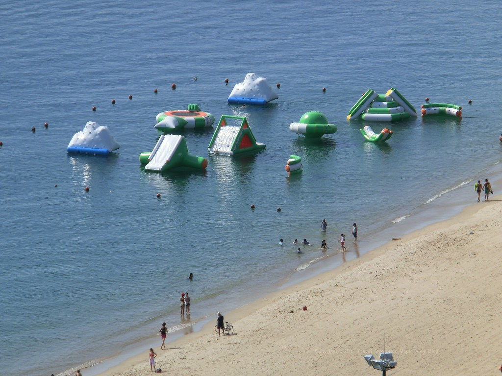Inflatable Floating Water Slide - Nha Trang Beach | Panorami