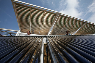 FIU Solar Thermal Collector System | by Dept of Energy Solar Decathlon