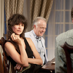 Katherine Waterston and Reed Birney in Dreams of Flying Dreams of Falling by Adam Rapp