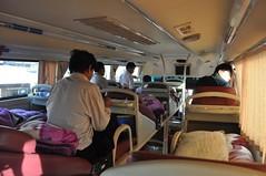 Sleeper bus Hanoi - Dien Bien Phu (~13h)