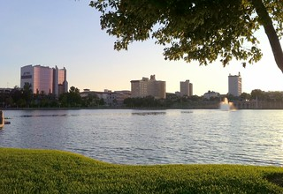 Lakeland - Downtown - Lake Mirror Park - View Of Downtown | by jared422_80