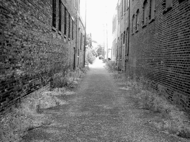 Old Franklin Alleyway