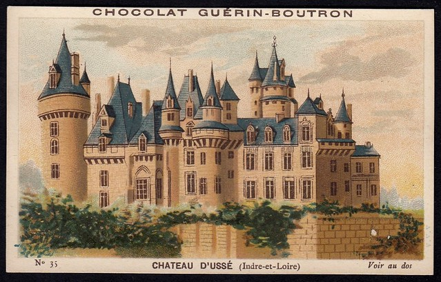 French Tradecard - Chateau d'Usse