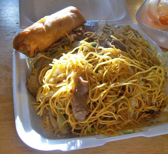Chungs Hong Kong Noodles Beef
