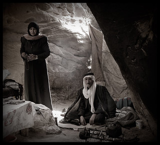 Bedouins à Little Petra