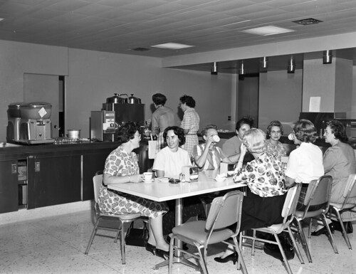 City Light employees on coffee break, 1960s | by Seattle Municipal Archives