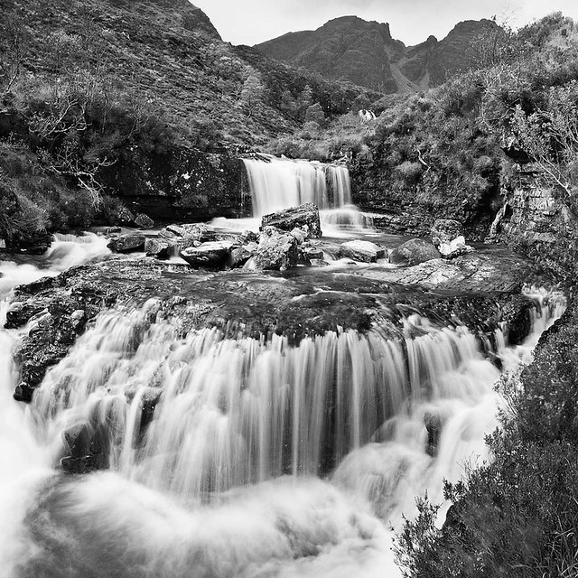 Bla Bheinn waterfalls take two