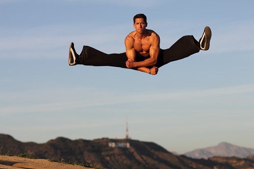 Muscle & Fitness magazine shoot with Emilien De Falco over the Hollywood hills :) | by JS_Photography_