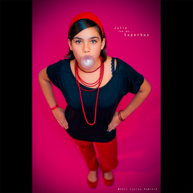 Julie, fan of... Superbus | Nouvelles voix