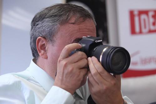 Mikel Agirregabiria, apodado el cameraman