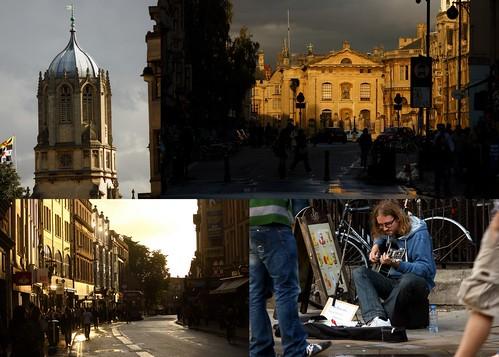Oxford City center