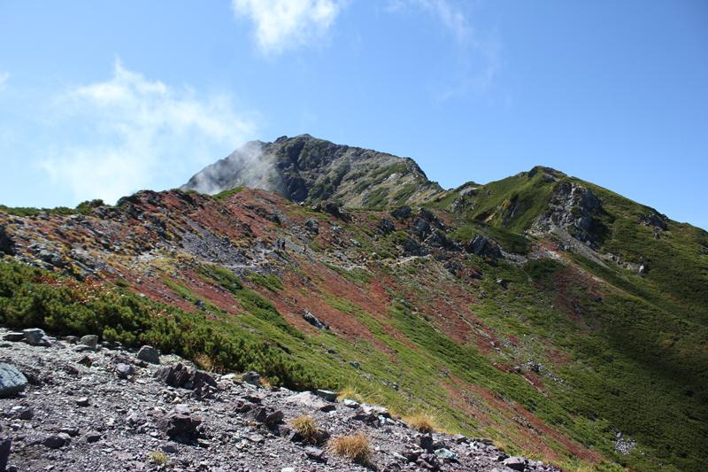 北岳への道