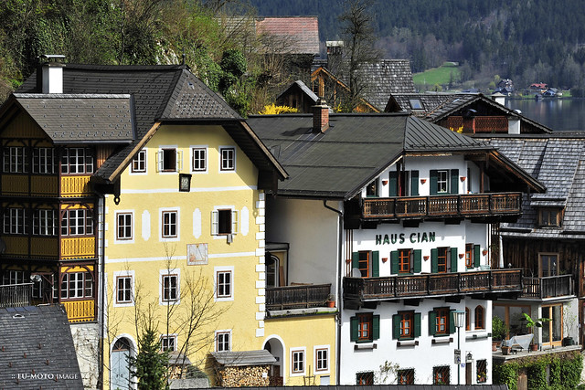 Hallstatt 哈斯達特 Austria 欧洲 tourism EU  萨尔茨卡默古特 ► All kinds of commercial usage are illegal ! ► Copyright 2011 B. Egger :: eu-moto images 8310