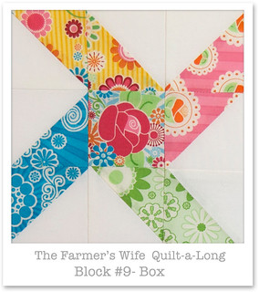 Farmer's Wife Quilt-a-Long - Block 9 | by Happy Zombie
