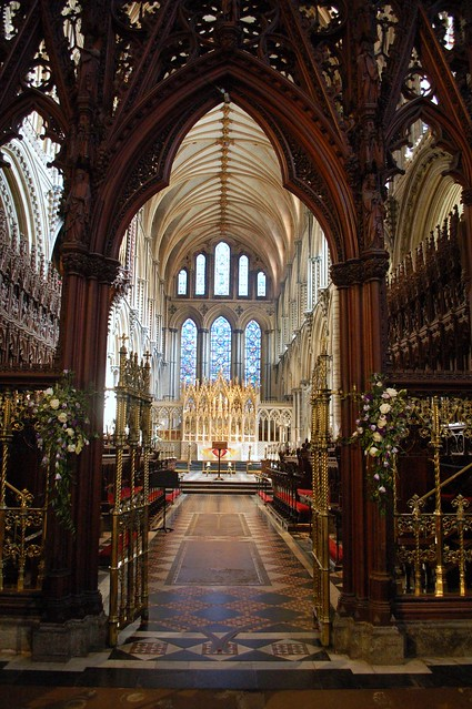 Ely Cathedral - Choir, presbytery and high altar