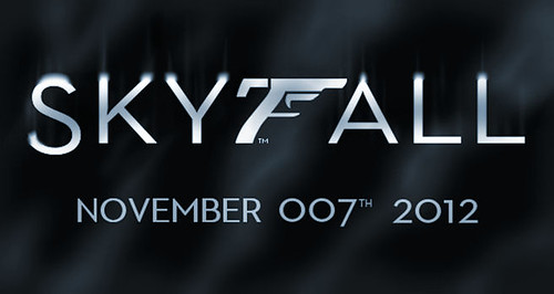SKYFALL - James Bond Logo | by AdrianPatrickArtist