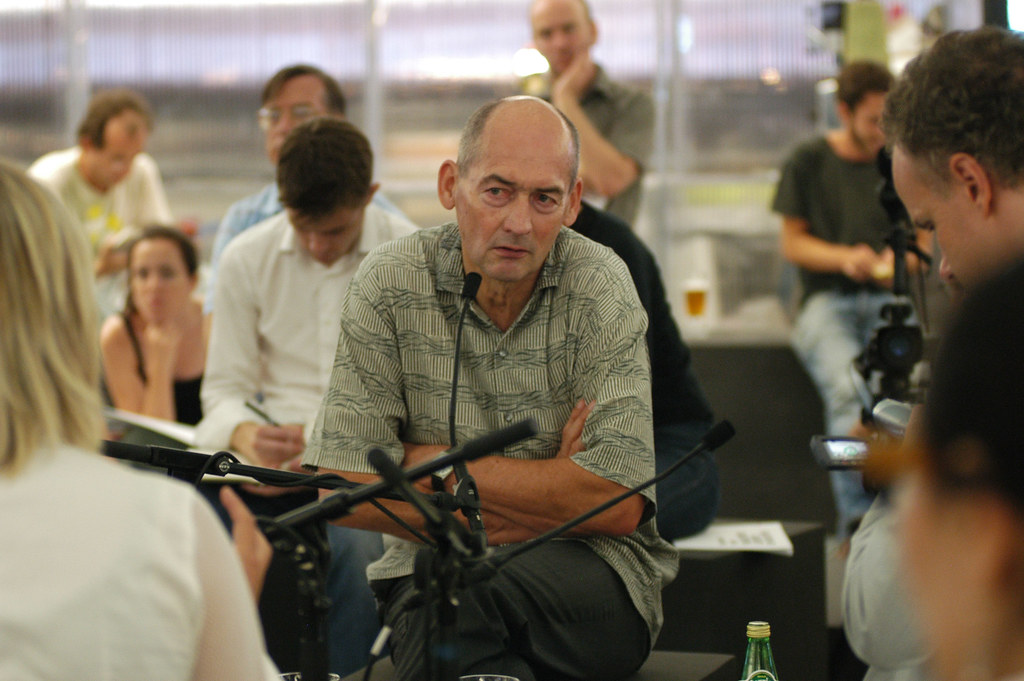 Rem Koolhaas - portrait 04