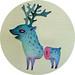 Blue deer by VLAD... . . .
