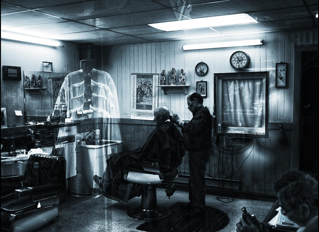 Chinatown barbershop