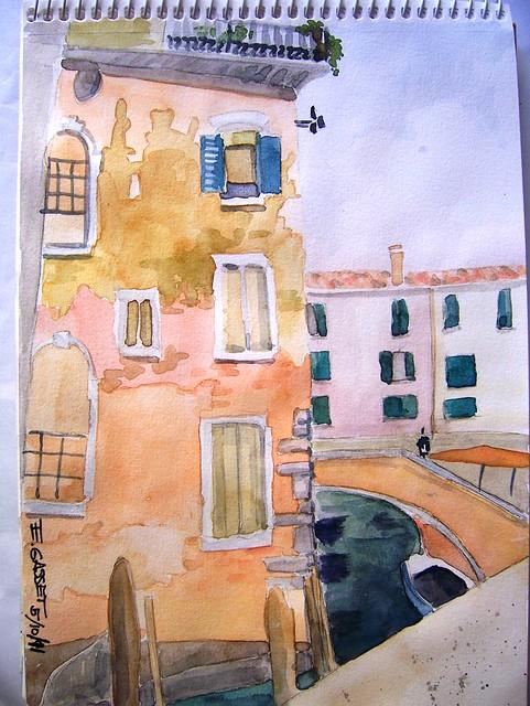 Venecia - casa de San Polo.