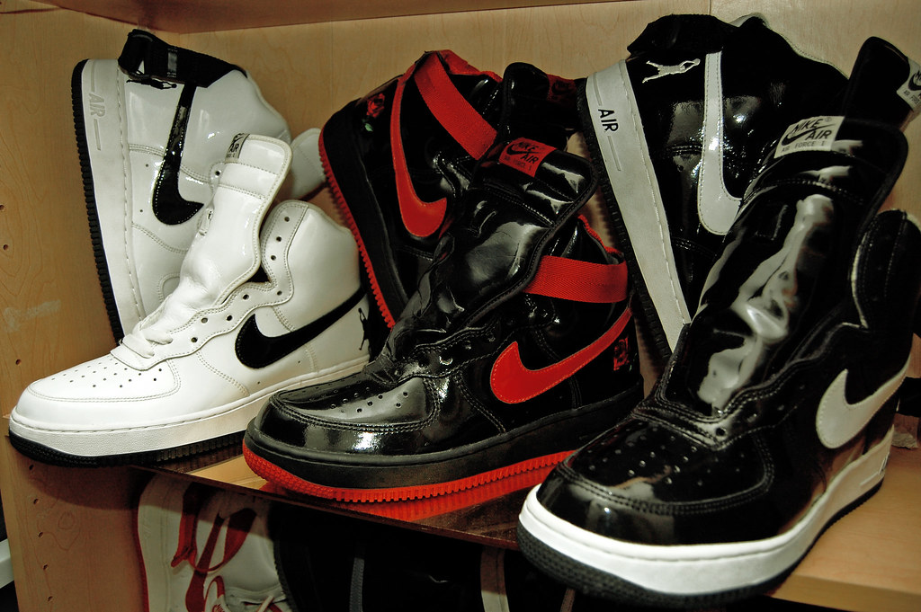 Nike Air Force 1 High Unreleased Sheed Sample Patent Vin