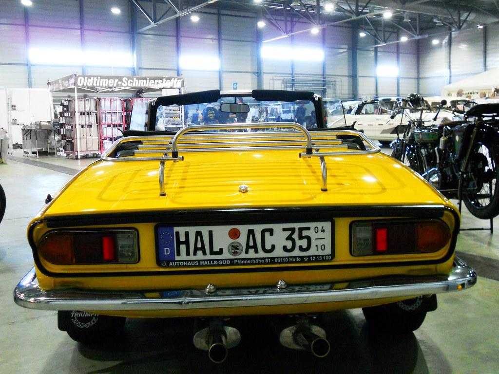 Triumph Spitfire 1500 1981 Speed Yellow Transaxle Alias