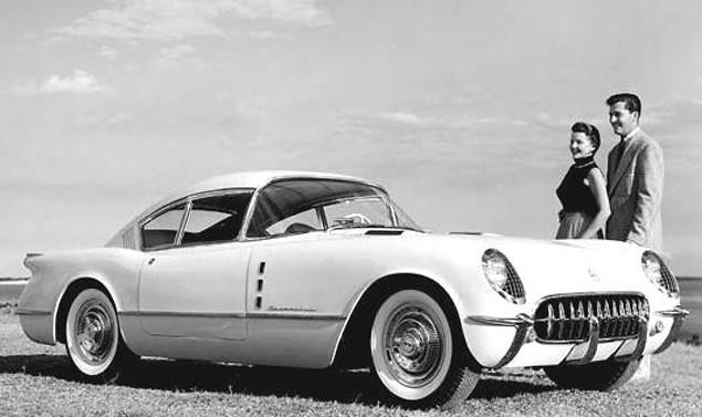 1954 Chevrolet Corvette Corvair Concept He 1954