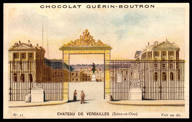 French Tradecard - Chateau de Versailles