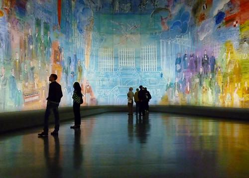 Paris SEPT2011 Musee d'Art Moderne de la Ville de Paris Dufy Le fee electricite 1 | by Mark B. Schlemmer