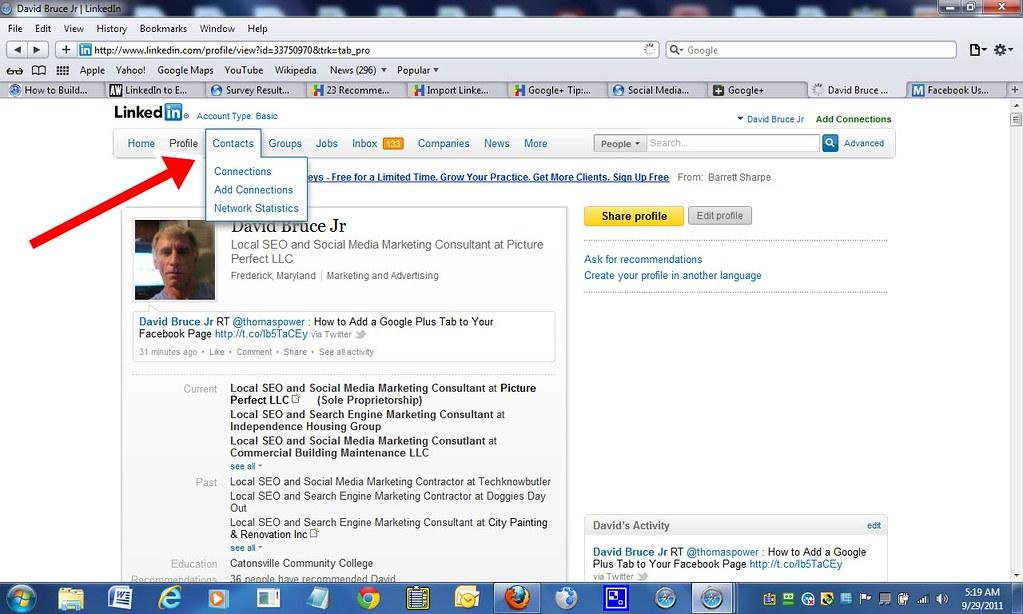 Import LinkedIn Contacts to Google+ - Import LinkedIn Contac… - Flickr