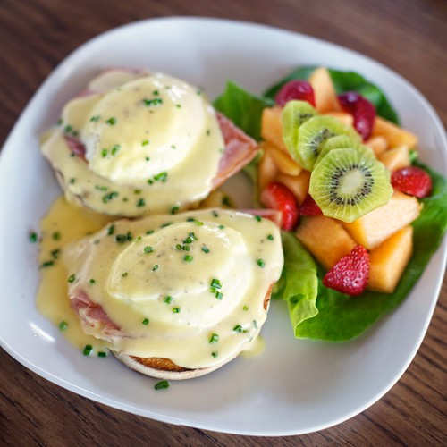 Eggs Benedict | by salvadorphoto